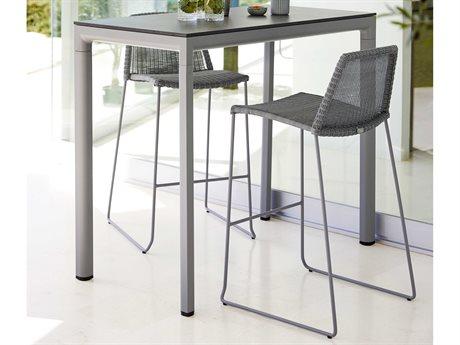 Cane Line Outdoor Aluminum Ceramic Dining Set