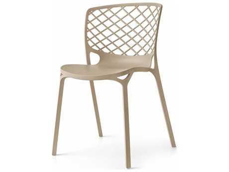 Connubia Gamera Matte Nougat Outdoor Stackable Chair