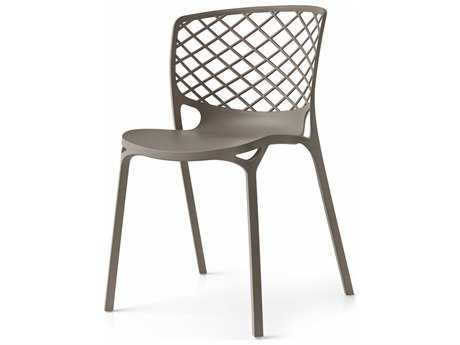 Connubia Gamera Matte Taupe Outdoor Stackable Chair