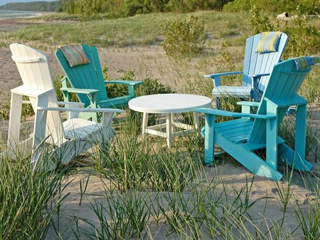 C.R. Plastic Generation Lounge Set With Chat Table PatioLiving