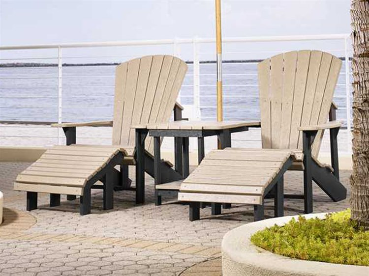 C.R. Plastic Generation Recycled Plastic Lounge Set PatioLiving