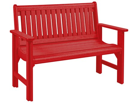 C.R. Plastic Generation Recycled Plastic Garden Bench PatioLiving