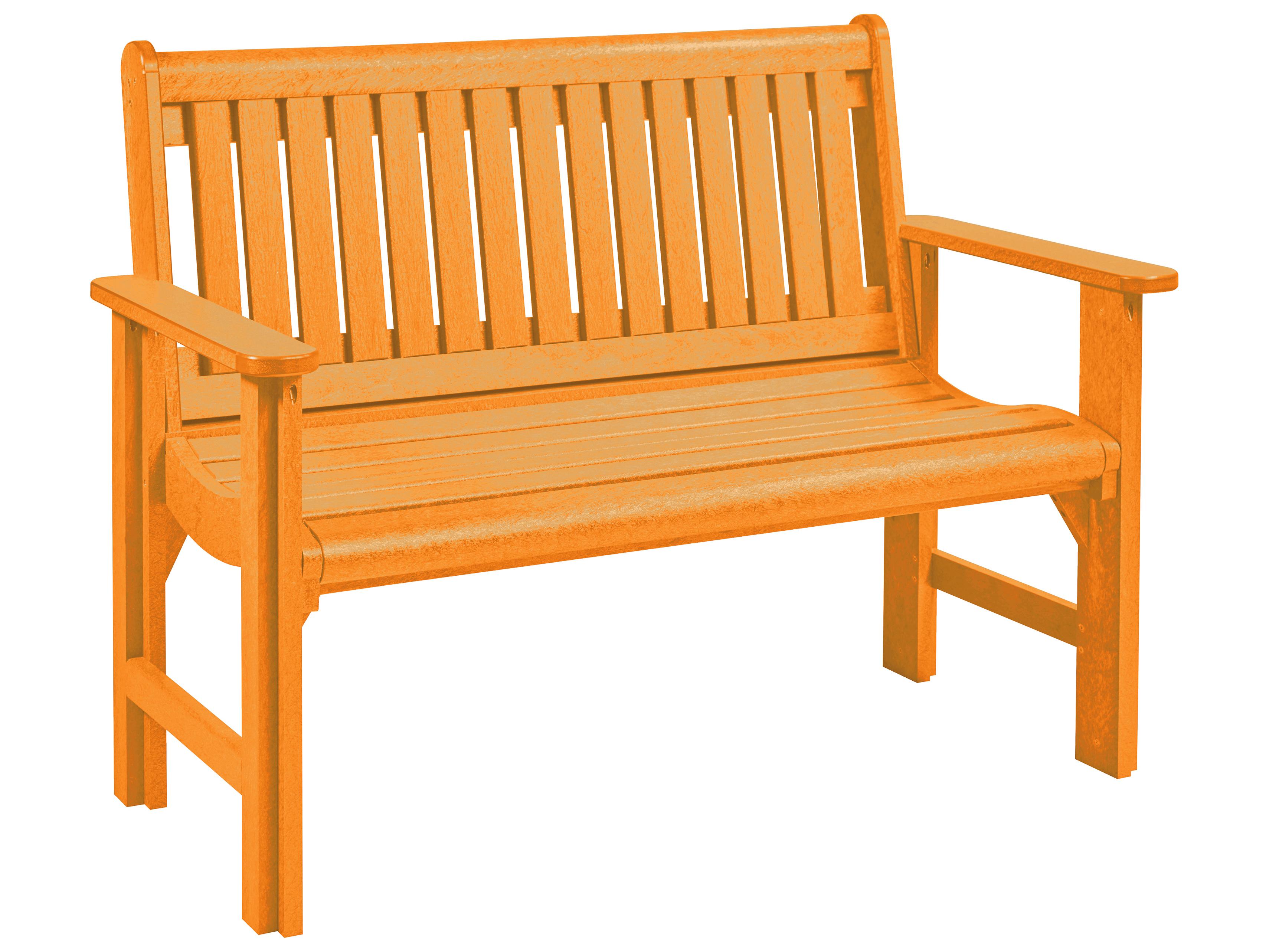 C R Plastic Generation Garden Bench Crb01