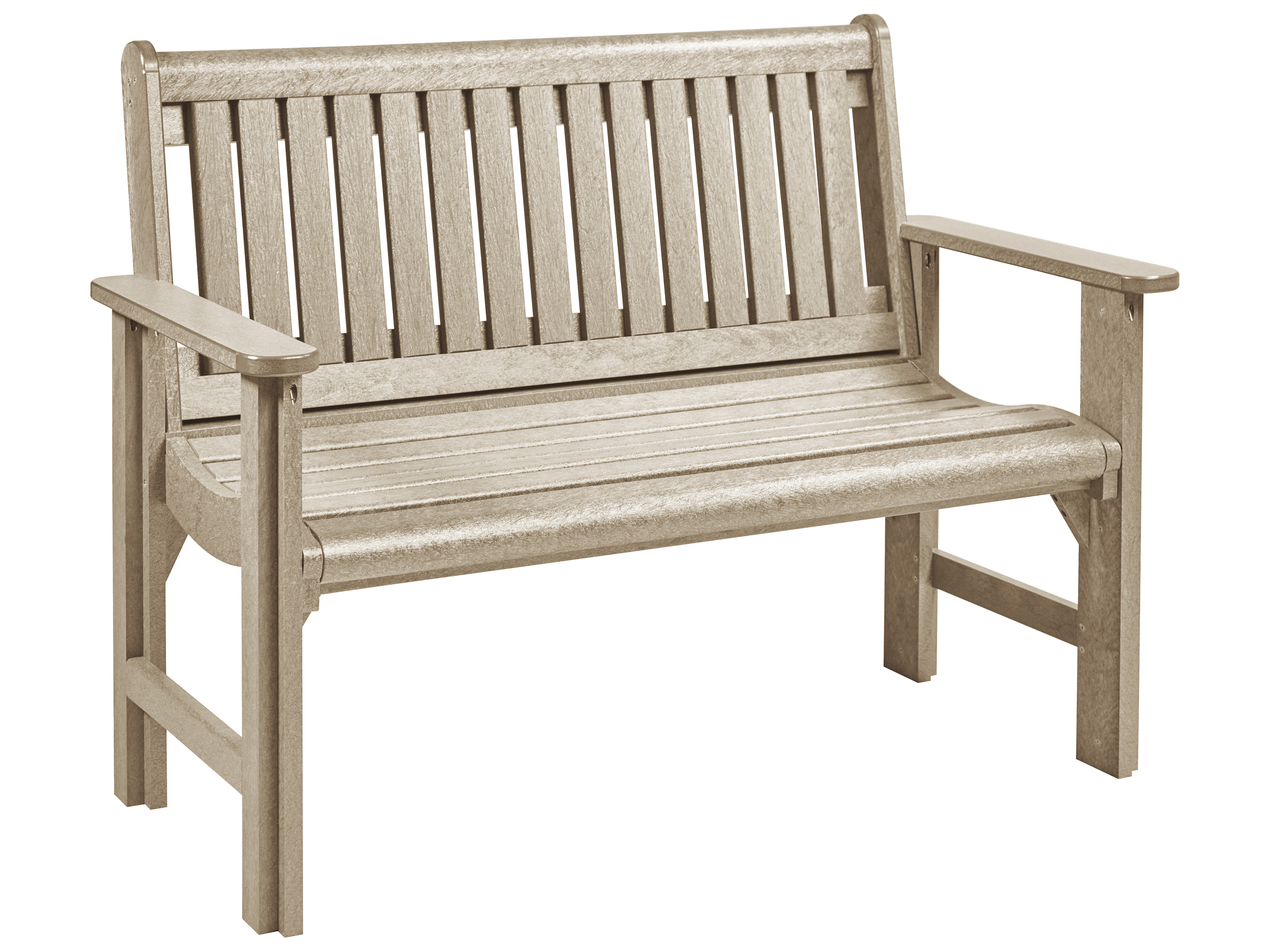 C R Plastic Generation Recycled Plastic Garden Bench Crb01