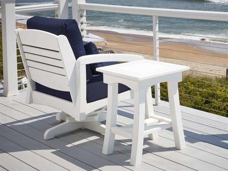 C.R. Plastic Bay Breeze Coastal Deep Seating Recycled Cushion Lounge Set