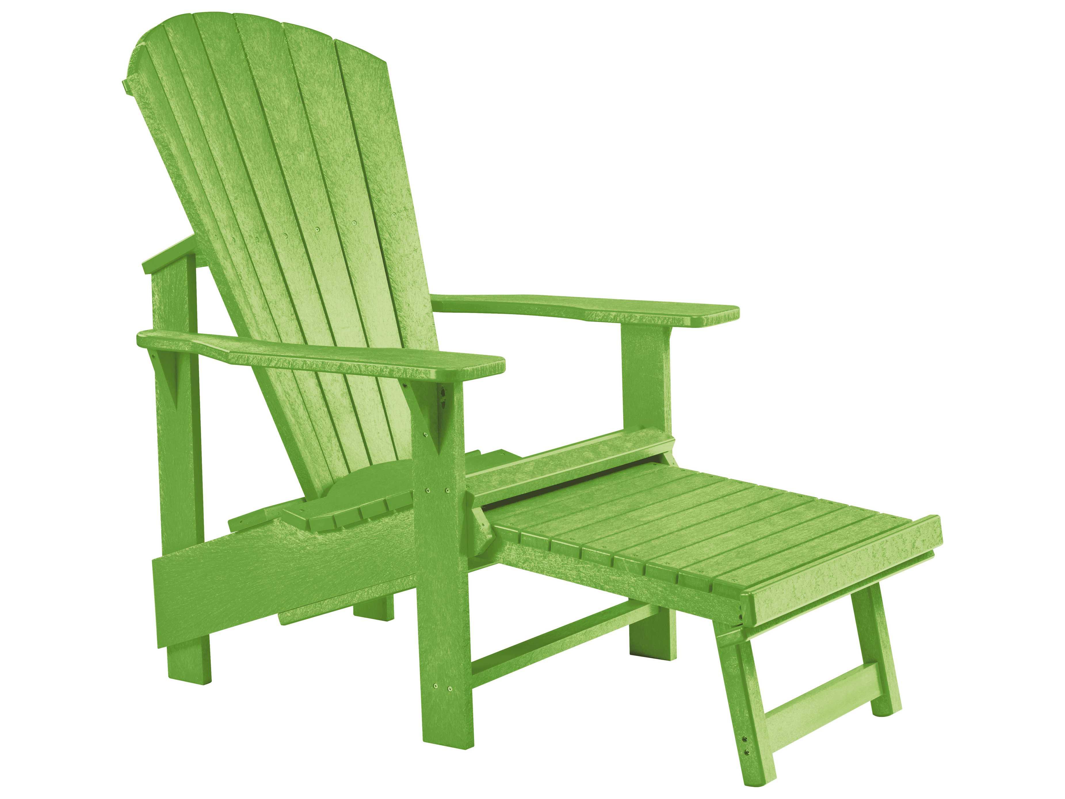 C r plastic generation recycled plastic adirondack upright chair crc03 - Chaise adirondack plastique recycle costco ...