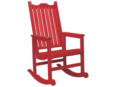 C.R. Plastic Generation Recycled Plastic Porch Rocker PatioLiving