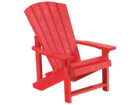 C.R. Plastic Generation Recycled Plastic Kids Adirondack PatioLiving
