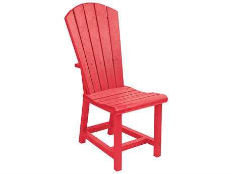 C.R. Plastic Generation Adirondack Dining Side Chair