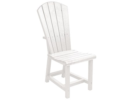C.R. Plastic Generation Recycled Plastic Addy Adirondack Side Chair PatioLiving