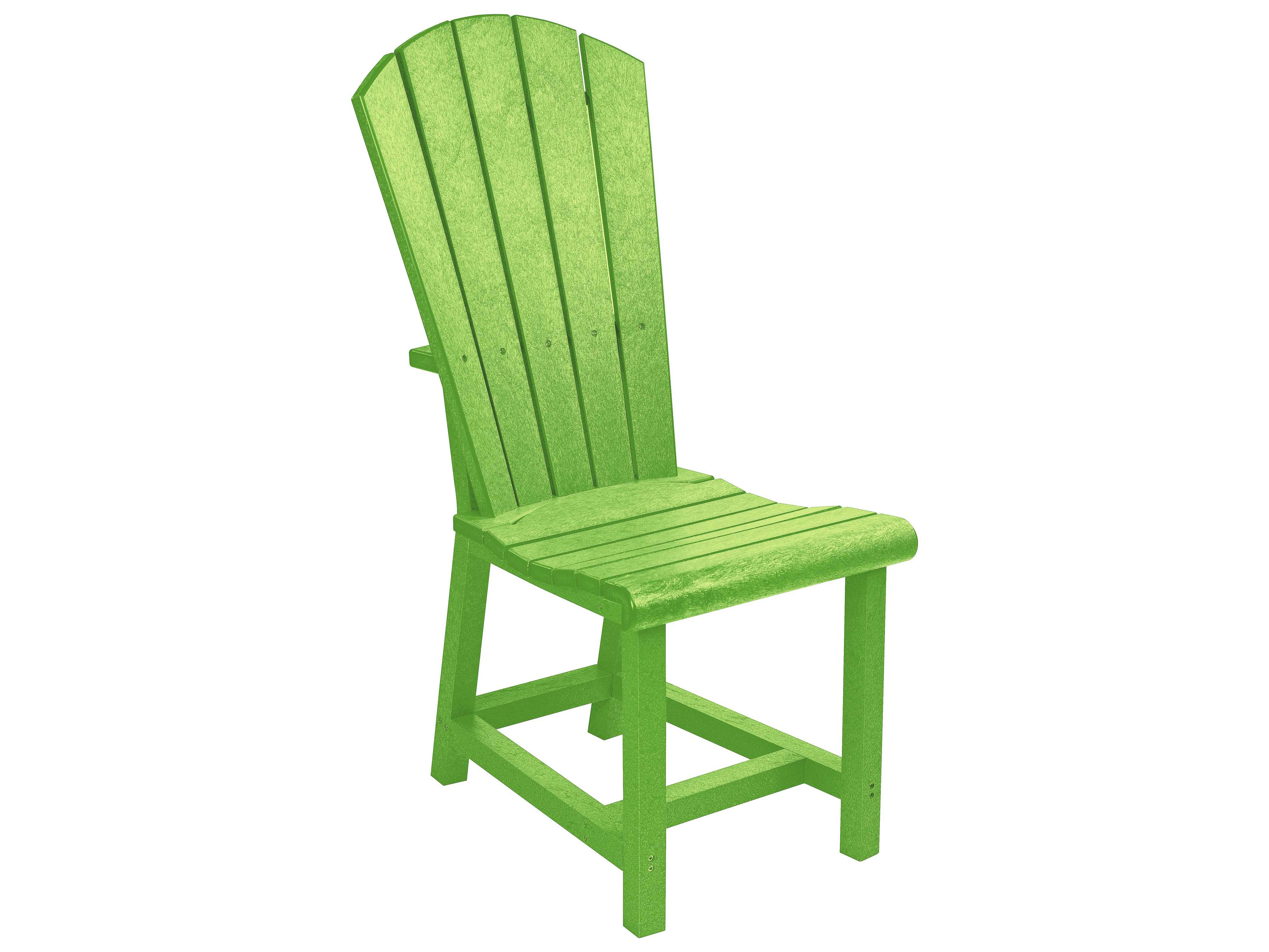 c r plastic generation recycled plastic addy adirondack side chair crc11. Black Bedroom Furniture Sets. Home Design Ideas