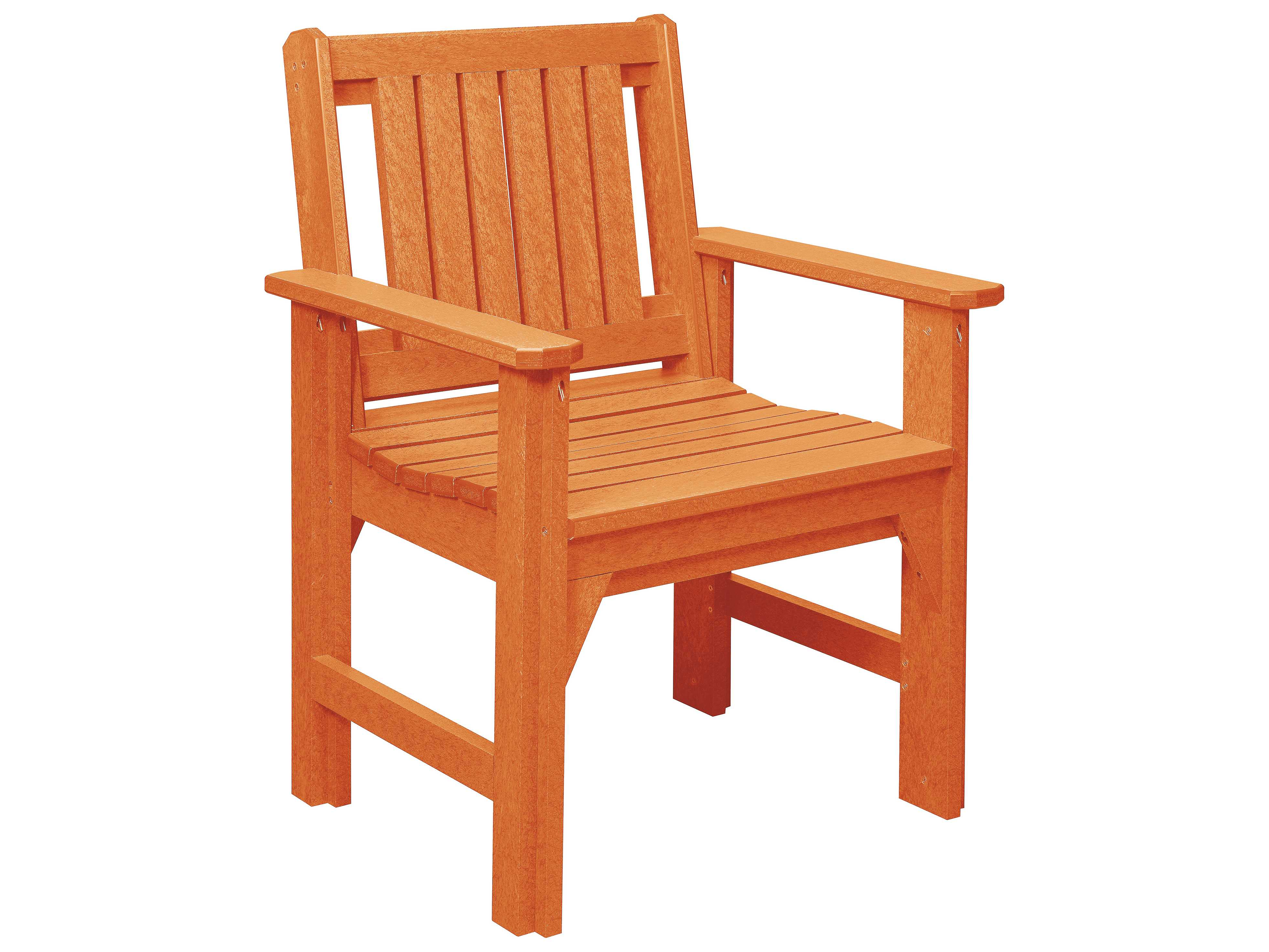 C R Plastic Generation Recycled Plastic Dining Chair Crc12