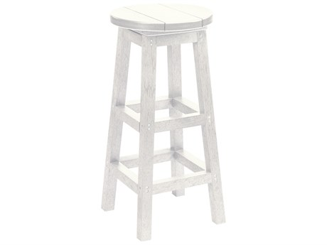 C.R. Plastic Generation Recycled Plastic Bar Stool PatioLiving