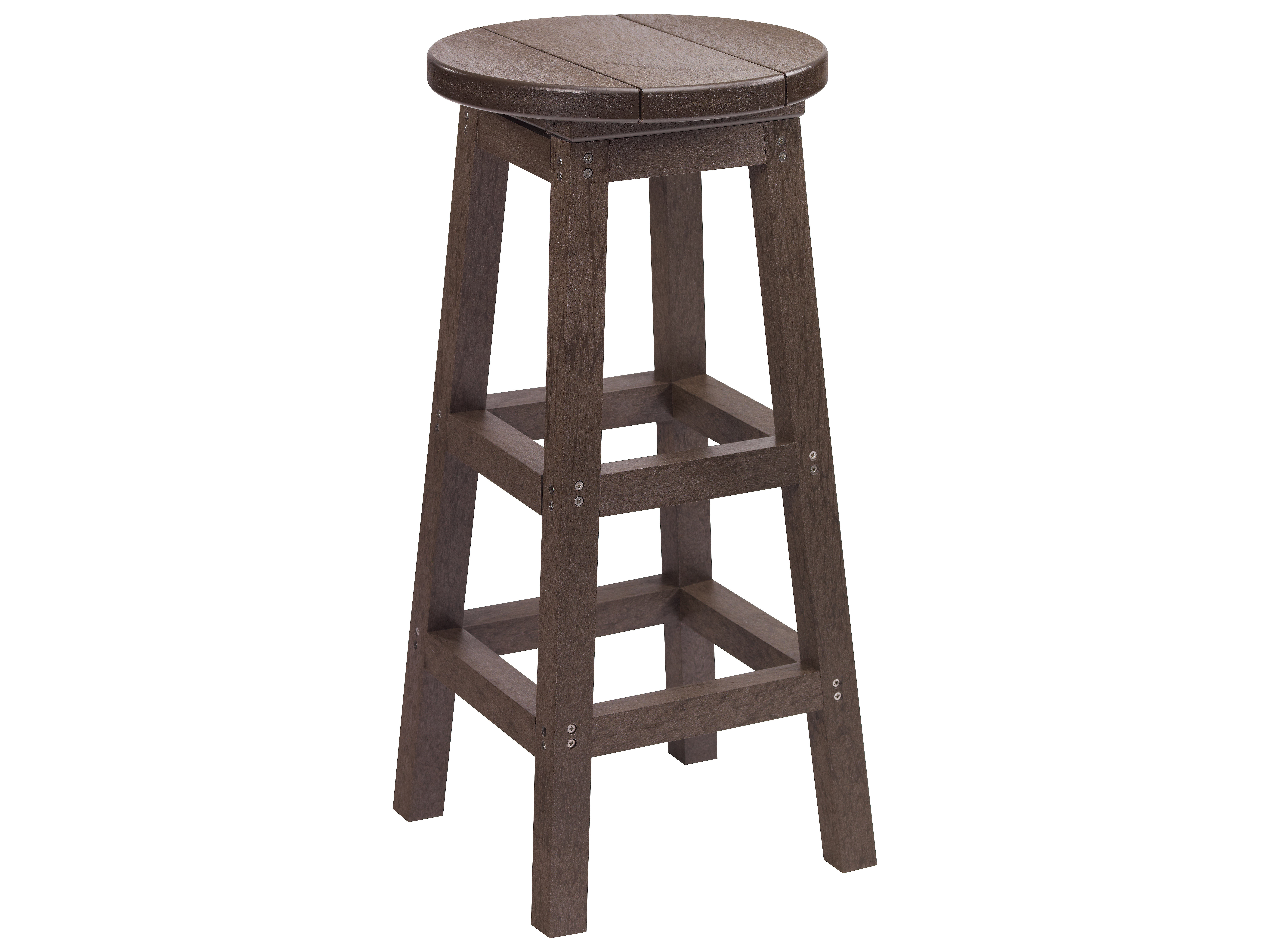 C R Plastic Generation Recycled Plastic Bar Stool C21