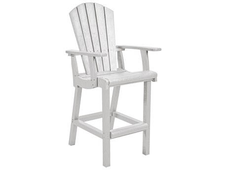 C.R. Plastic Generation Recycled Plastic Classic Bar Arm Chair PatioLiving