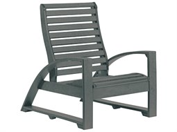 C.R. Plastic St. Tropez Recycled Plastic Adirondack Chair