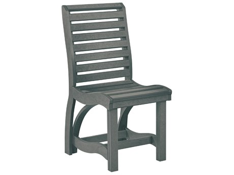 C.R. Plastic St. Tropez Recycled Plastic Dining Side Chair PatioLiving