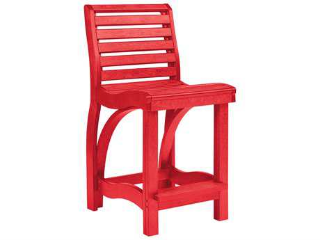 C.R. Plastic St. Tropez Counter Stool