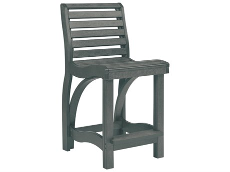 C.R. Plastic St. Tropez Recycled Plastic Counter Stool