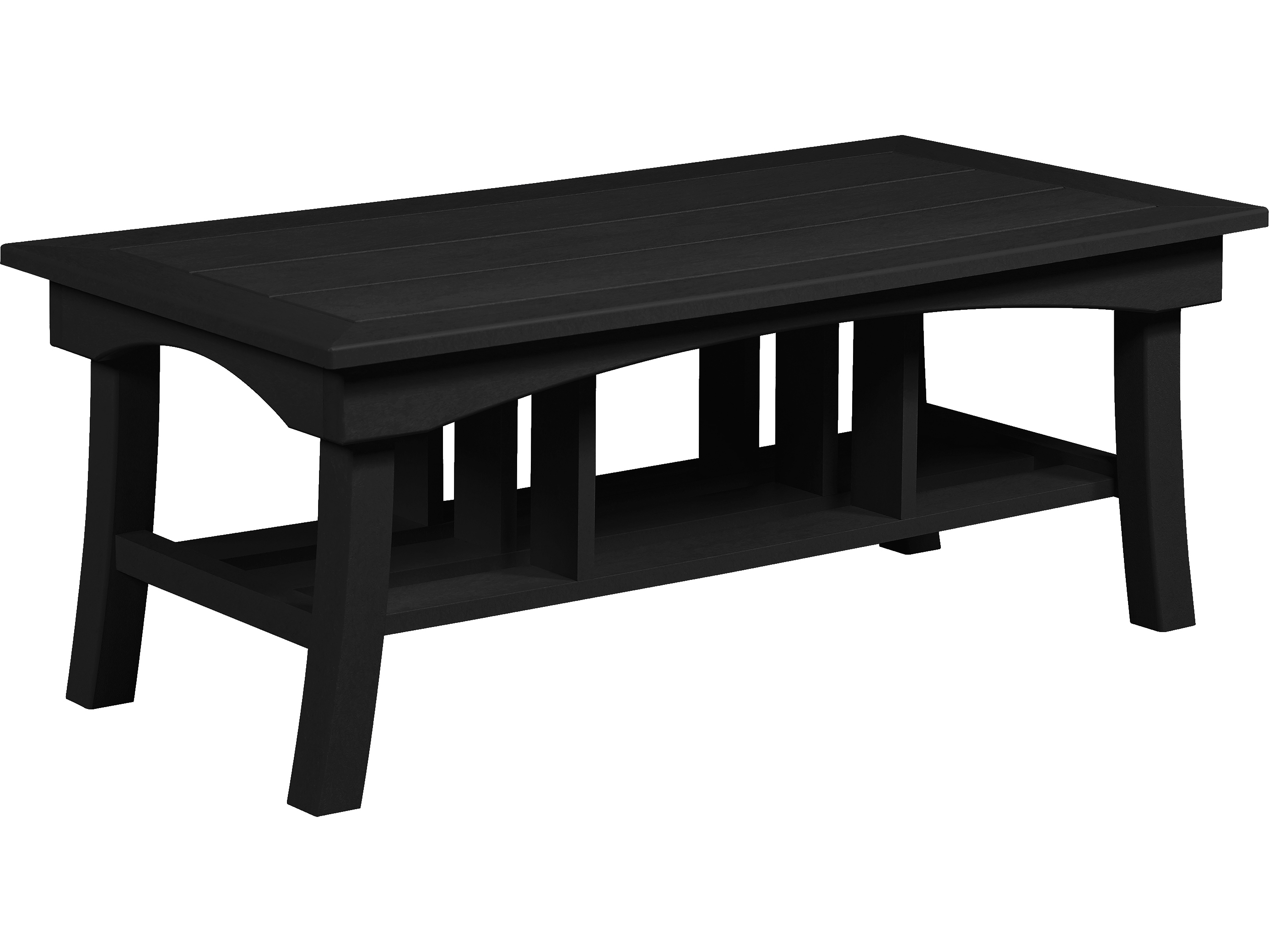 C R Plastic Bay Breeze Deep Seating 49 Rectangular Coffee Table Dst167