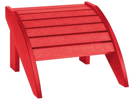 C.R. Plastic Generation Recycled Plastic Foot Stool PatioLiving