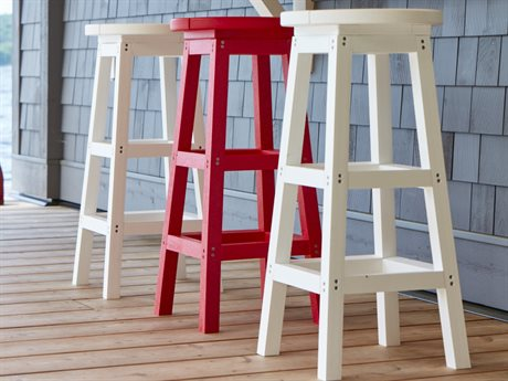C.R. Plastic Generation Recycled Plastic Bar Stool Set