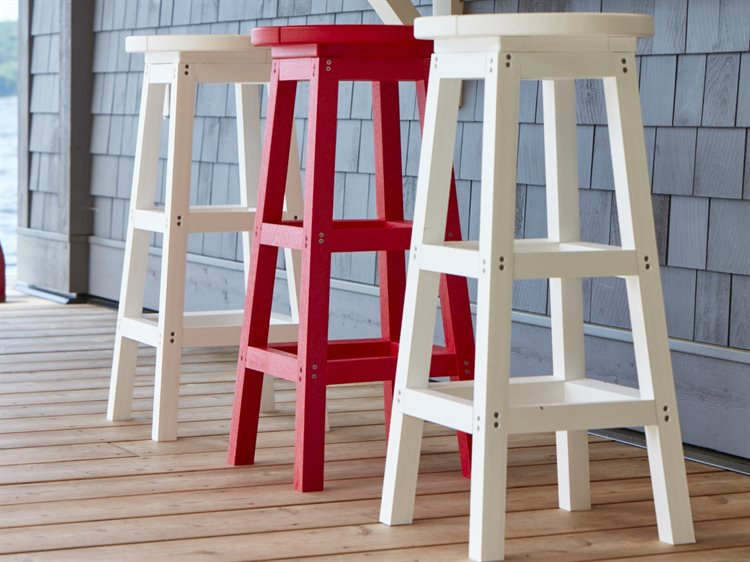 C.R. Plastic Generation Recycled Plastic Bar Stool Set PatioLiving