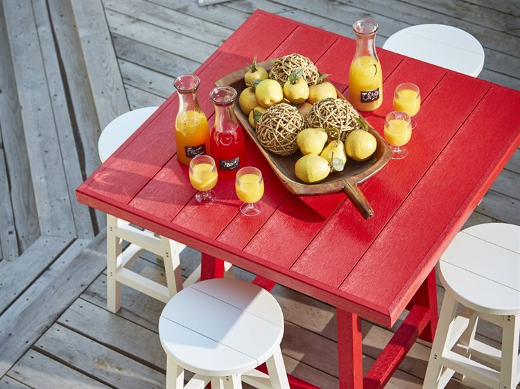 C.R. Plastic Generation Recycled Plastic Bar Set PatioLiving