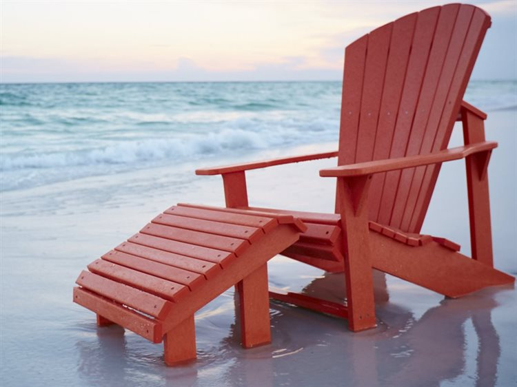 C.R. Plastic Generation Recycled Plastic Lounge Chair Set PatioLiving