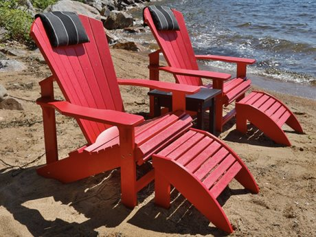 C.R. Plastic Generation Recycled Plastic Lounge Chair Set