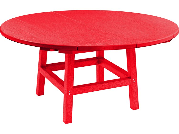 C.R. Plastic Generation Recycled Plastic 40'' Wide Round Cocktail Table PatioLiving