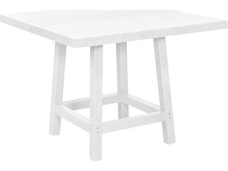 C.R. Plastic Generation Recycled Plastic 40'' Square Dining Table