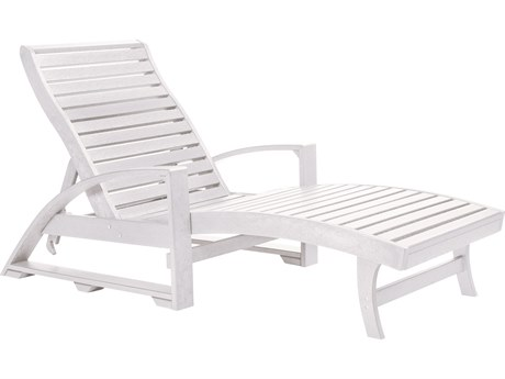 C.R. Plastic Generation Recycled Plastic Chaise Lounge