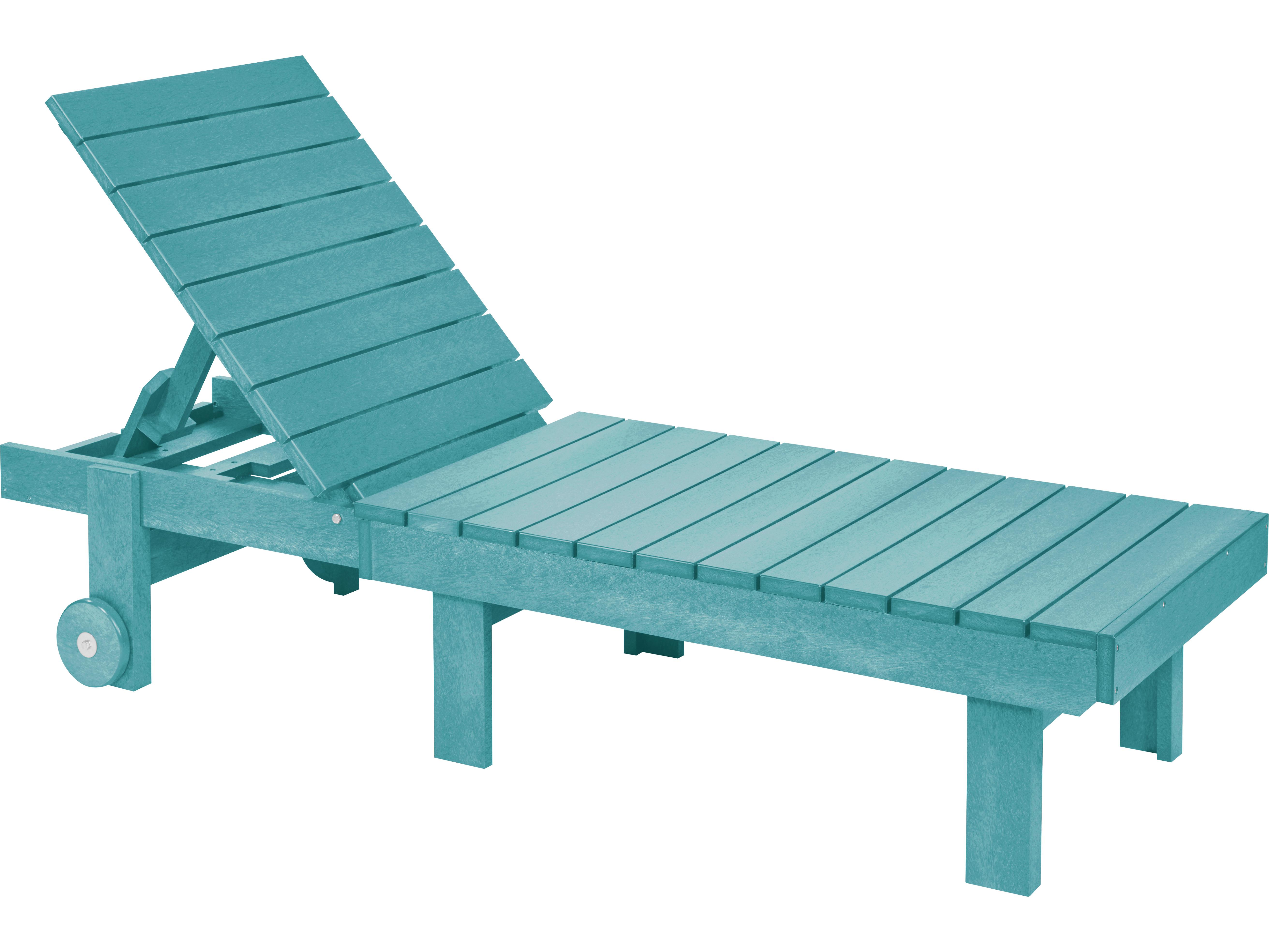 C r plastic generation chaise lounge l78 for Chaise longue pvc blanc