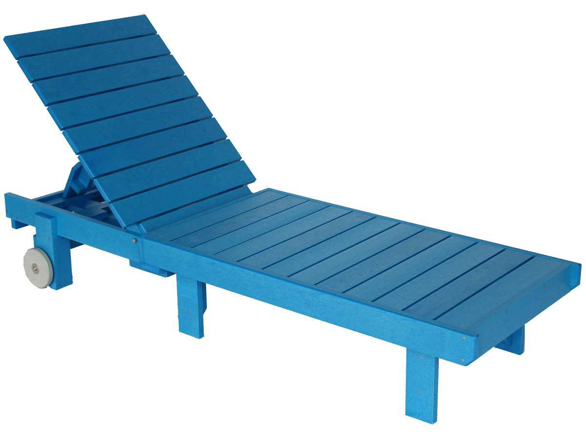 C r plastic generation chaise lounge set with side table for Chaise longue jardin pvc