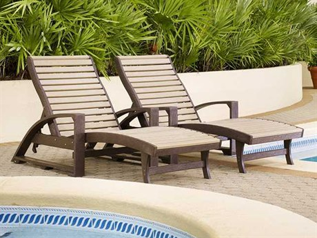 C.R. Plastic St. Tropez Recycled Plastic Lounge Set PatioLiving