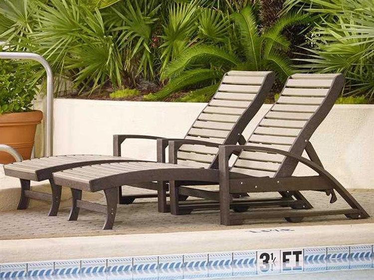 C.R. Plastic St. Tropez Recycled Plastic Lounge Set PatioLiving