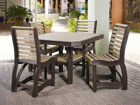 C.R. Plastic St. Tropez Recycled Plastic Dining Set