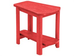 C.R. Plastic Generation Recycled Plastic 25''W x 16''D Addy Side Table