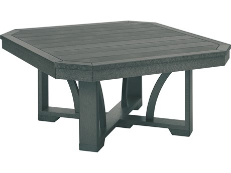 C.R. Plastic St. Tropez 35 x 29 Coffee Table