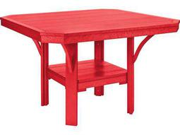Great C.R. Plastic St. Tropez 45 Square Dining Table