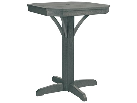 C.R. Plastic St. Tropez 28 Square Counter Table