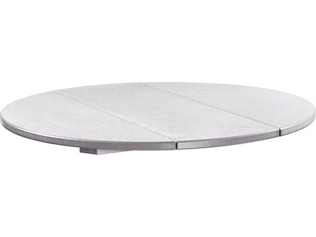 C.R. Plastic Generation Recycled Plastic 32''Wide Round Table Top PatioLiving