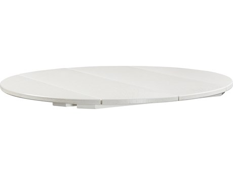 C.R. Plastic Generation Recycled Plastic 40''Wide Round Table Top