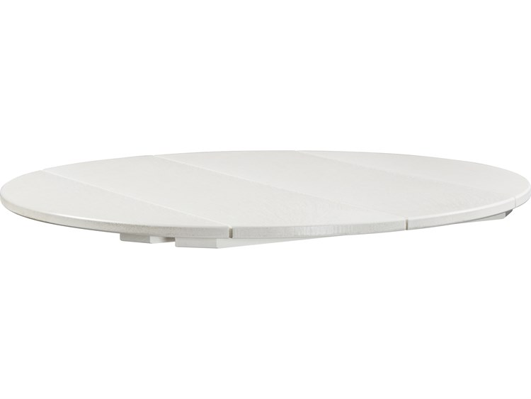 C.R. Plastic Generation Recycled Plastic 40''Wide Round Table Top PatioLiving