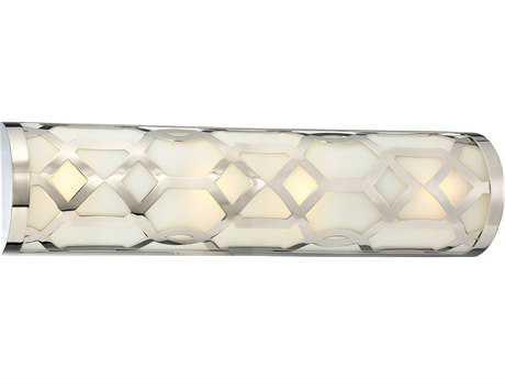 Libby for Crystorama Libby For Crystorama - Jennings 4 Light Polished Nickel Vanity Light