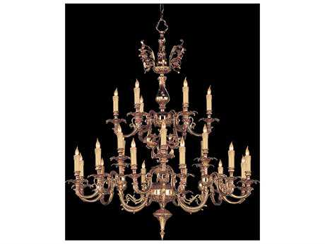 Crystorama Novella Olde Brass 24-Light 40'' Wide Grand Chandelier