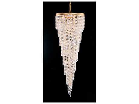 Crystorama Hot Deal Gold 15-Light 21'' Wide Grand Chandelier