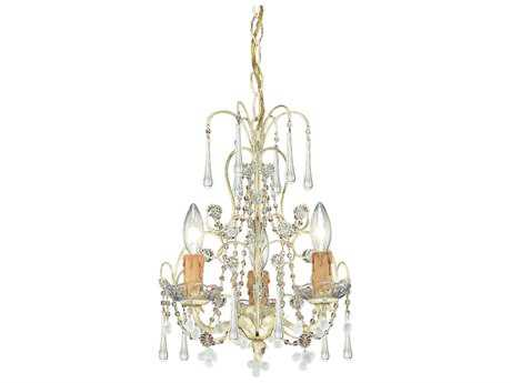 Crystorama Paris Market Three-Light 12'' Wide Mini Chandelier