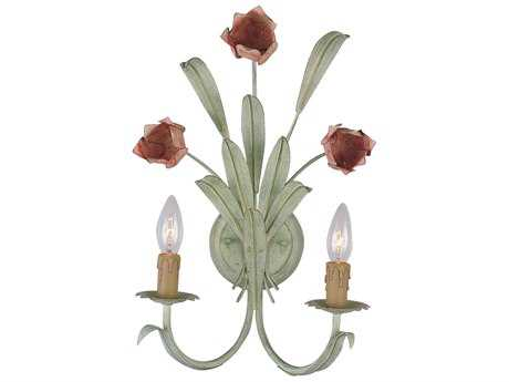 Crystorama Southport Two-Light Wall Sconce